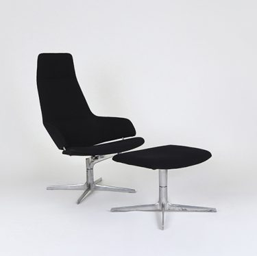 Aston Lounge Chair with Footstool   Designer Executive Chairs, Office Chairs