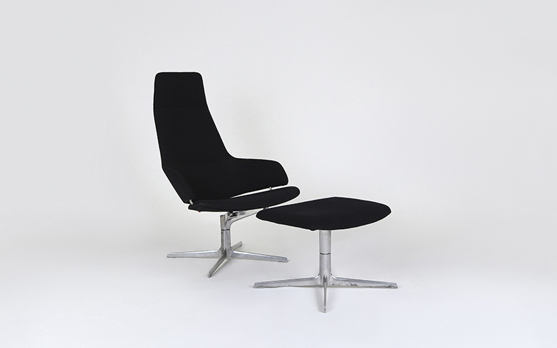 Aston Lounge Chair with Footstool