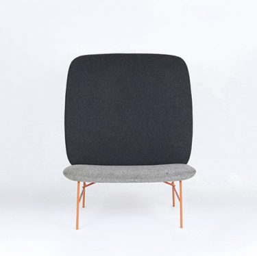 Kelly High Back Lounge Chair | Designer Lounge Chairs