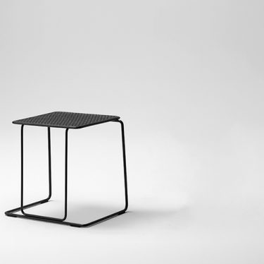 Paperclip Low Stool   Designer Stools & Barstools, Outdoor Seating, Outdoor Seating