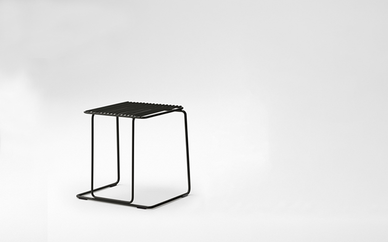 Paperclip Low Stool