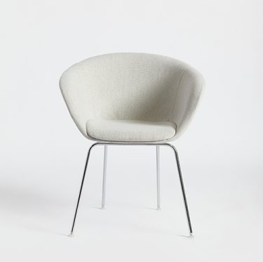 Duna Four Leg Chair | Designer Office Chairs, Dining Chairs