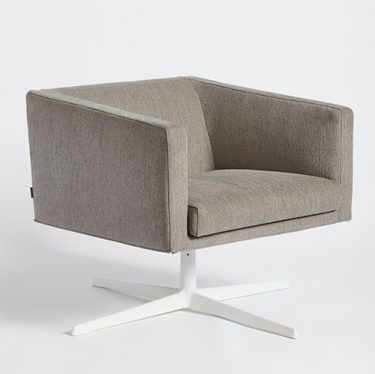 Cubica Swivel Armchair | Designer Lounge Chairs