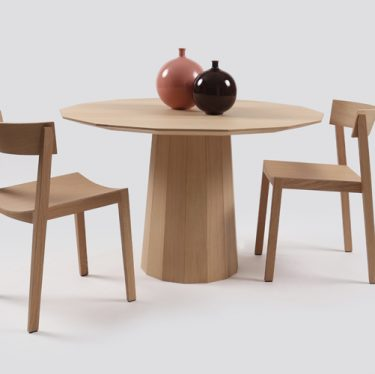 Colour Wood Dining Table | Designer Dining Tables