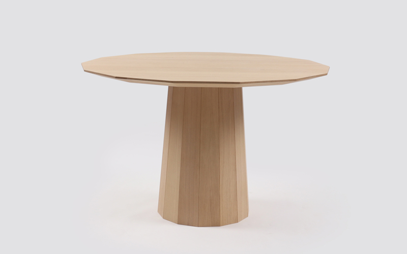 Colour Wood Dining Table