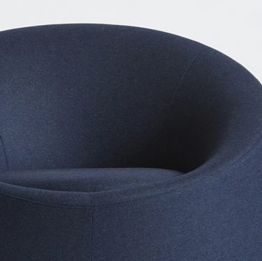 Crystal Round Armchair   Designer Lounge Chairs