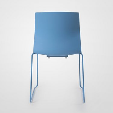 Kabi Sled Chair   Designer Office Chairs
