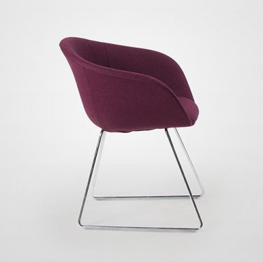 Duna Sled Chair   Designer Office Chairs, Dining Chairs